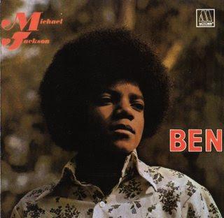 """Capa do disco """"Ben""""(1972)"""